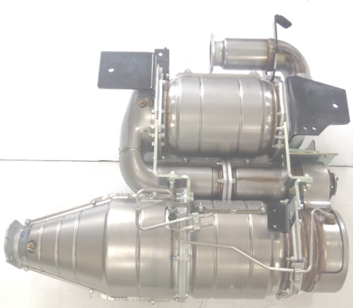 DPF with SCR Assy